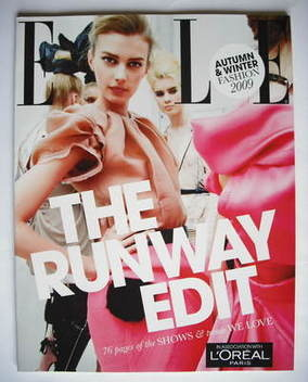 British Elle supplement - The Runway Edit (Autumn/Winter 2009)