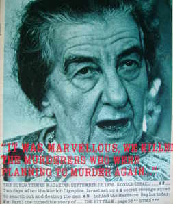 <!--1976-09-12-->The Sunday Times magazine - Golda Meir cover (12 September