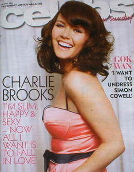 <!--2009-04-26-->Celebs magazine - Charlie Brooks cover (26 April 2009)