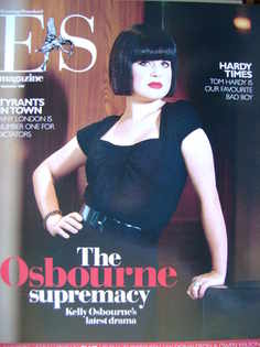 <!--2007-09-07-->Evening Standard magazine - Kelly Osbourne cover (7 Septem
