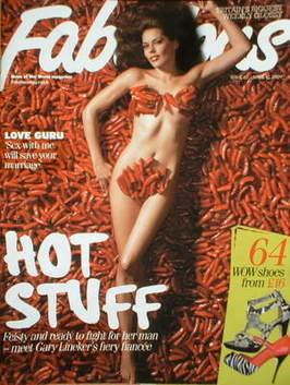 <!--2009-04-12-->Fabulous magazine - Danielle Bux cover (12 April 2009)