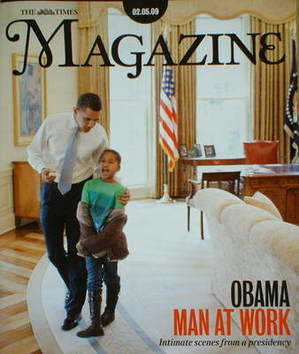 <!--2009-05-02-->The Times magazine - Barack Obama cover (2 May 2009)