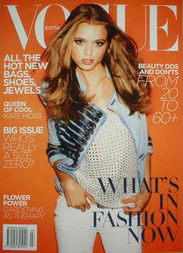 <!--2009-04-->Australian Vogue magazine - Spring 2009 - Abbey Lee Kershaw (