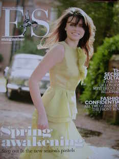 <!--2009-03-27-->Evening Standard magazine - Emer Kenny cover (27 March 200