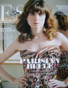 <!--2009-04-17-->Evening Standard magazine - Cecile Cassel cover (17 April