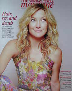 <!--2008-12-21-->The Sunday Times magazine - Kate Hudson cover (21 December