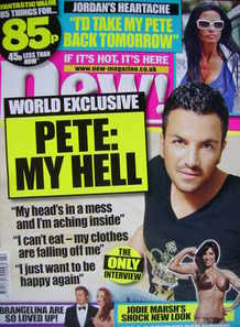 <!--2009-06-01-->New magazine - 1 June 2009 - Peter Andre cover