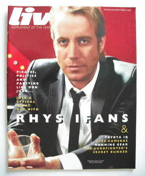 <!--2009-03-15-->Live magazine - Rhys Ifans cover (15 March 2009)