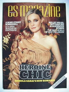 <!--2009-07-25-->Evening Standard magazine - Romola Garai cover (25 Septemb