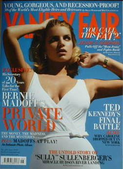 Vanity Fair magazine - Jessica Simpson cover (June 2009)