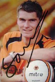 Sam Vokes autograph (Wolverhampton Wanderers)