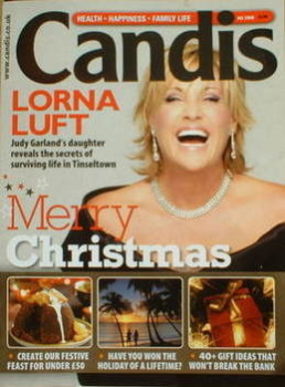 Candis magazine - December 2008 - Lorna Luft cover
