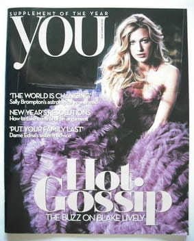 <!--2008-12-28-->You magazine - Blake Lively cover (28 December 2008)