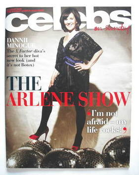 <!--2009-08-23-->Celebs magazine - Arlene Phillips cover (23 August 2009)