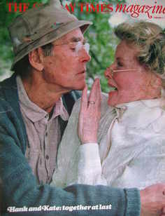 <!--1982-02-07-->The Sunday Times magazine - Henry Fonda and Katharine Hepb