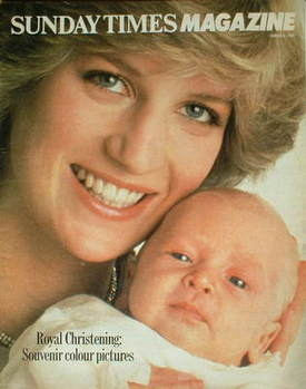 <!--1982-08-08-->The Sunday Times magazine - Princess Diana and Prince Will