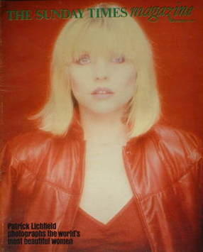 <!--1981-09-13-->The Sunday Times magazine - Deborah Harry cover (13 Septem