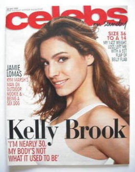 Celebs magazine - Kelly Brook cover (24 May 2009)
