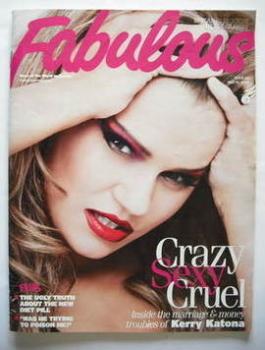 Fabulous magazine - Kerry Katona cover (10 May 2009)