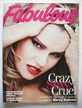 <!--2009-05-10-->Fabulous magazine - Kerry Katona cover (10 May 2009)