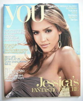 <!--2007-06-10-->You magazine - Jessica Alba cover (10 June 2007)