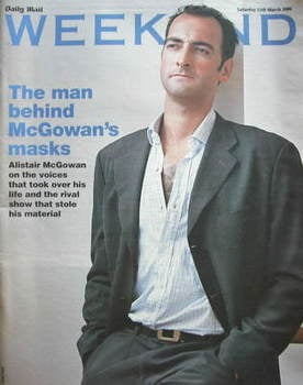 Weekend magazine - Alistair McGowan cover (11 March 2006)