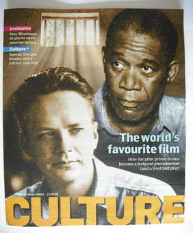 <!--2009-09-13-->Culture magazine - Morgan Freeman and Tim Robbins cover (1