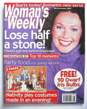 <!--2000-11-28-->Woman's Weekly magazine (28 November 2000)