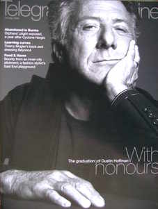 <!--2009-05-23-->Telegraph magazine - Dustin Hoffman cover (23 May 2009)