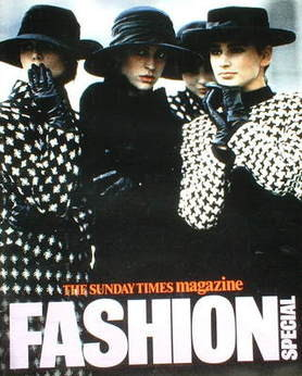 <!--1986-06-->The Sunday Times magazine - Fashion Special cover (1986)