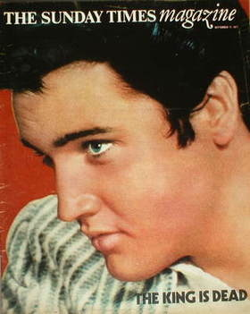 <!--1977-09-11-->The Sunday Times magazine - Elvis Presley cover (11 Septem