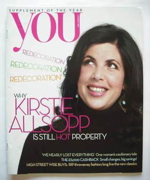 <!--2009-01-04-->You magazine - Kirstie Allsopp cover (4 January 2009)