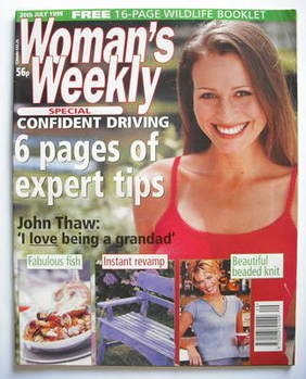 <!--1999-07-20-->Woman's Weekly magazine (20 July 1999)