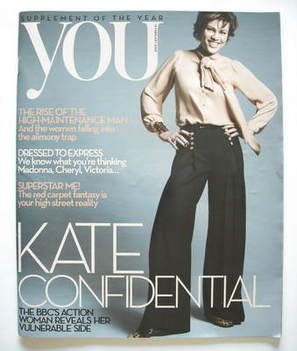 <!--2009-02-15-->You magazine - Kate Silverton cover (15 February 2009)