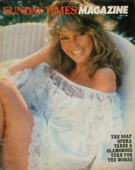 <!--1982-05-02-->The Sunday Times magazine - Heather Locklear cover (2 May