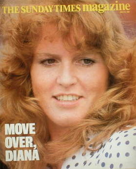 <!--1987-07-19-->The Sunday Times magazine - Sarah Ferguson cover (19 July
