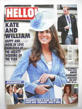 <!--2009-08-24-->Hello! magazine - Kate Middleton cover (24 August 2009 - I