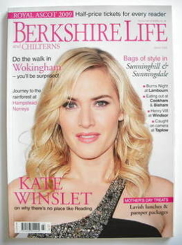 Berkshire Life magazine - Kate Winslet cover (March 2009)