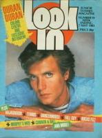 <!--1983-05-07-->Look In magazine - Simon Le Bon cover (7 May 1983)