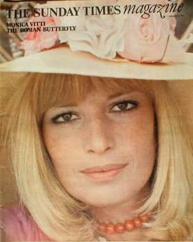 <!--1977-01-02-->The Sunday Times magazine - Monica Vitti cover (2 January