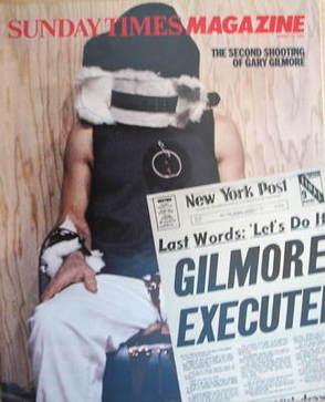 <!--1983-01-16-->The Sunday Times magazine - Gary Mark Gilmore cover (16 Ja