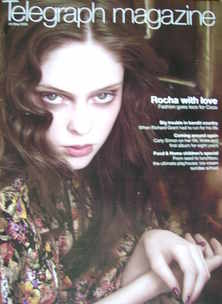 <!--2008-05-24-->Telegraph magazine - Coco Rocha cover (24 May 2008)