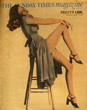 <!--1975-08-10-->The Sunday Times magazine - Pretty Cool cover (10 August 1