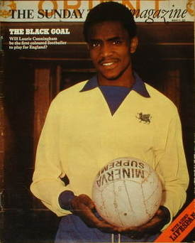 <!--1976-03-21-->The Sunday Times magazine - Laurie Cunningham cover (21 Ma