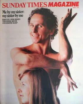 <!--1983-03-06-->The Sunday Times magazine - Wayne Sleep and Joanne Sleep c