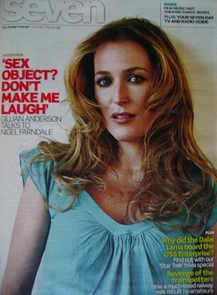 Seven magazine - Gillian Anderson cover (3 May 2009)