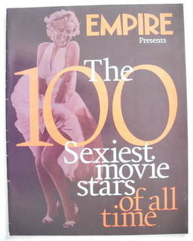 Empire supplement - The 100 Sexiest Movie Stars Of All Time
