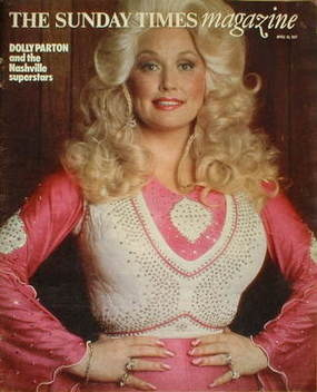 <!--1977-04-10-->The Sunday Times magazine - Dolly Parton cover (10 April 1