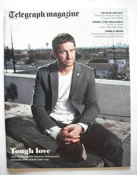 <!--2009-07-18-->Telegraph magazine - Gerard Butler cover (18 July 2009)