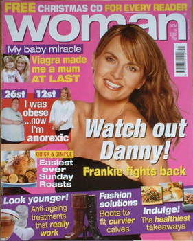 <!--2005-11-14-->Woman magazine - Debra Stephenson cover (14 November 2005)